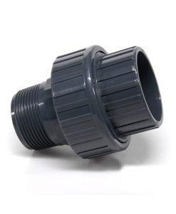 PVC šróbovacia spojka, vonkajsi zavit x lepenie