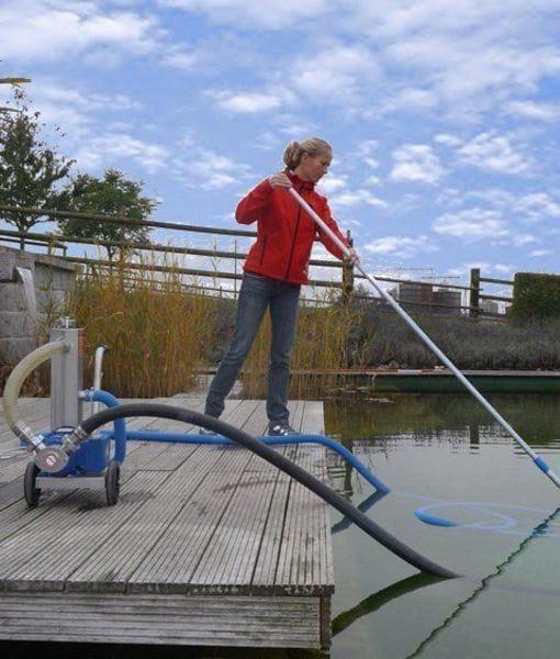 Profesionálny jazierkový vysávač